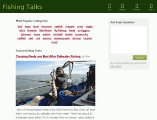 fishingtalks.com screenshot
