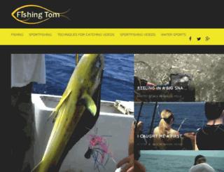 fishingtom.com screenshot