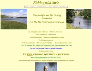 fishingwithstyle.co.uk screenshot