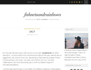 fishnetsandrainbows.com screenshot
