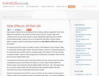 fishoileffectsguide.com screenshot