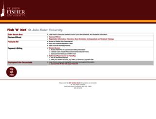 fishrnet.sjfc.edu screenshot