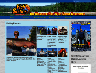 fishsniffer.com screenshot