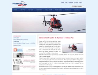 fishtailair.com screenshot