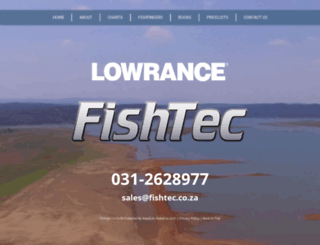 fishtec.co.za screenshot
