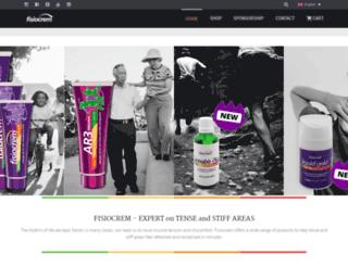 fisiocrem.com screenshot