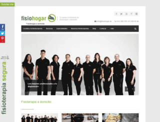 fisiohogar.com screenshot