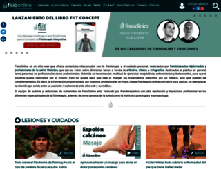 fisioterapia-online.com screenshot