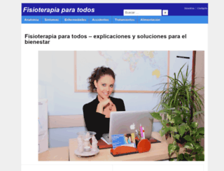 fisioterapiaparatodos.com screenshot