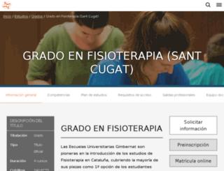 fisioterapiasc.eug.es screenshot