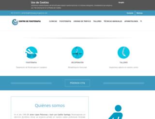 fisioterapiayrecuperacion.com screenshot