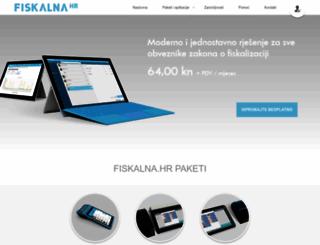 fiskalna.hr screenshot