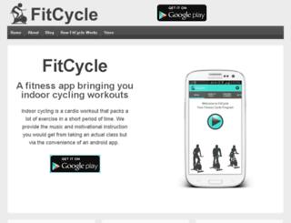 fit-cycle.com screenshot