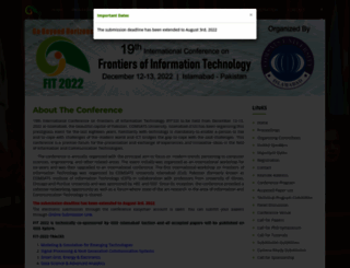 fit.edu.pk screenshot