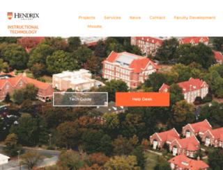 fit.hendrix.edu screenshot