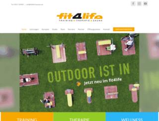 fit4life-hassfurt.de screenshot