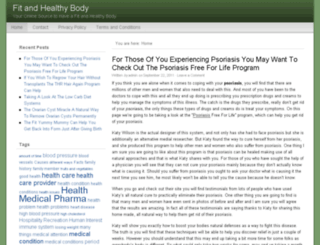 fitandhealthybody.org screenshot