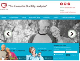 fitatfiftyplus.net screenshot