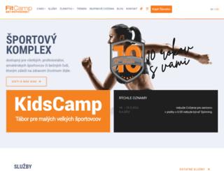 fitcamp.sk screenshot