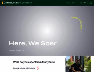 fitchburgstate.edu screenshot