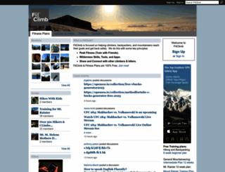 fitclimb.com screenshot