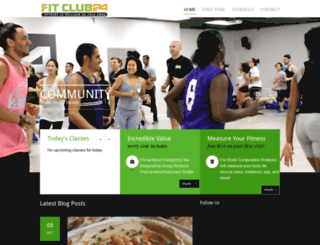 fitclub24.ca screenshot