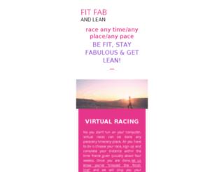 fitfabandlean.com screenshot