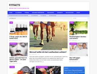 fitfacts.de screenshot