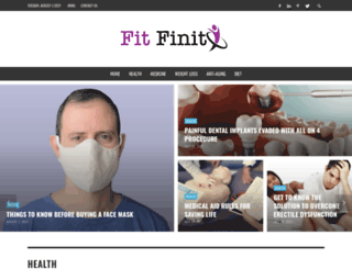 fitfinity.net screenshot