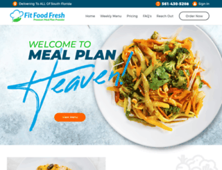 fitfoodfresh.com screenshot