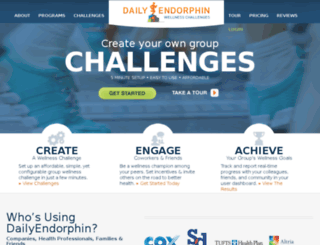 fitforlife.dailyendorphin.com screenshot