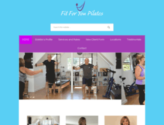 fitforyoupilates.com screenshot