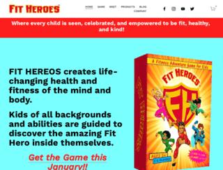 fitheroes.com screenshot