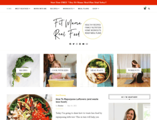 fitmamarealfood.com screenshot
