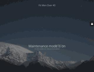 fitmenover40.com screenshot