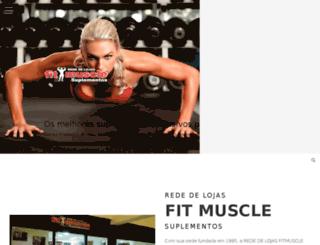 fitmuscle.com.br screenshot