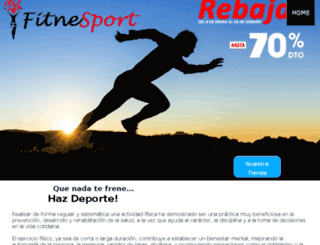 fitnesport.com screenshot