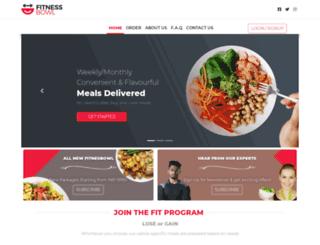 fitness-bowl.com screenshot