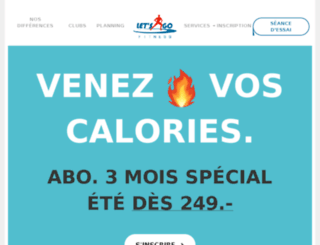 fitness-geneve.info screenshot