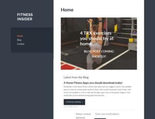 fitness-insider.com screenshot