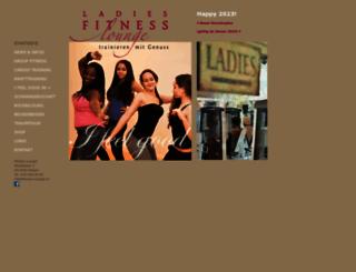 fitness-lounge.ch screenshot