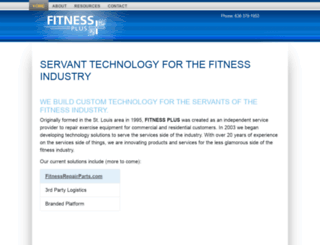 fitness-plus.net screenshot