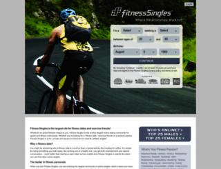 fitness-singles.com screenshot