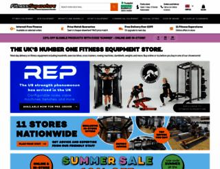 fitness-superstore.co.uk screenshot