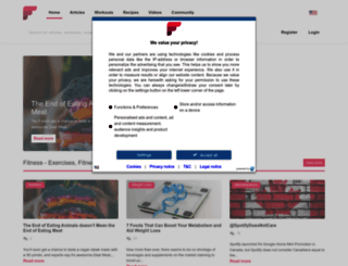 fitness.com screenshot