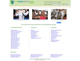fitness.costhelper.com screenshot