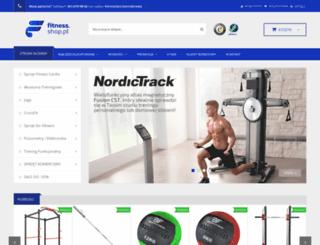 fitness.shop.pl screenshot