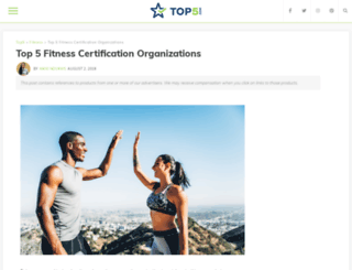 fitness.top5.com screenshot