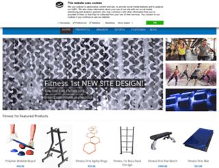 fitness1st.com screenshot
