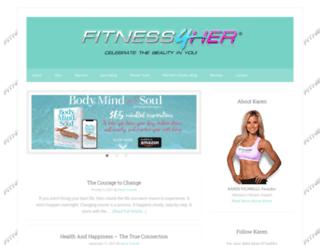 fitness4her.com screenshot